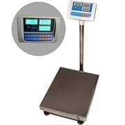 Весы товарные (с расчетом стоимости) ВЭТ-150-1С-АБ