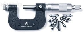 Микрометр со вставками МВМ 25