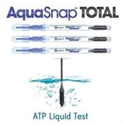 Тесты для жидкостей Aquasnap Total AQ100  для определения АТФ в жидкости АКВАСНАП 100шт в упаковке
