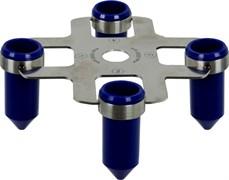 Ротор для центрифуги СМ-6М/СМ-6МТ на 4 пробирки до 50 мл.
