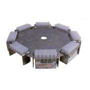 Ротор для центрифуги СМ-6МТ на 24 гель-карты