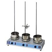 КолбонагревательLH-253, трехместный, для 3 колб 250-1000 мл, в комплекте 3 штативные стойки
