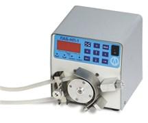 Насос перистальтическийLS-301, расход (со стандартным шлангом) 0,06…25 л/час (1…420 мл/мин), микропроцессорное управление