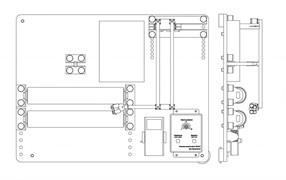 Автоматизированное устройство УКР-ВТ1 Комплект №1 (устройство сканирования, Константа ВД1, преобразователь типа ПФ-Рх, каретка типа КхТ, контрольный образец дефекта резьбы)