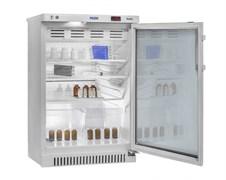 Холодильник фармацевтический ХФ-140-1 V=140 л. Н=910 мм со стеклянной дверью
