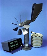 Метеостанция М-49М полевой вариант (в комплектации с датчиком ветра ДВМ) с водозащищенным пультом всеклиматического исполнения (-40..+60) с питанием от любого источника электроэнергии напряжением 12В и 24В постоянно