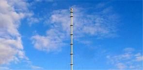 Метеомачта 2 м, 2,5м (мачта-тренога)