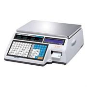 Весы торговые с печатью этикеток CL5000-15B TCP-IP