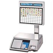 Весы торговые с печатью этикеток CL5000J-30IS TCP-IP