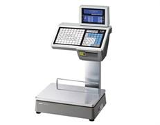Весы торговые с печатью этикеток CL5000D-6D TCP-IP