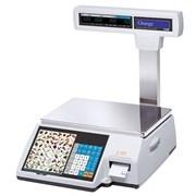 Весы торговые с печатью этикеток CL5000J-30IP TCP-IP