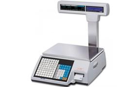 Весы торговые с печатью этикеток CL5000J-15IP TCP-IP