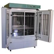 Климатостат  (термолюминостат) КС-200 (камера из нержавеющей стали, корпус из высококачественной декорированной нержавеющей стали, освещение)