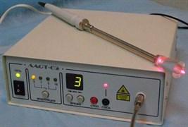 Аппарат для лазеротерапии уретрально и ректально или  вагинально и эндоцервикально Ласт-02+ИК-ЛАЗЕР