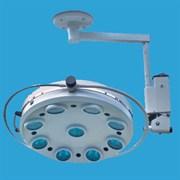 Напольный операционный светильник ALFA-739. 9-рефлекторный потолочный (90000 Лк)