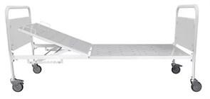 Кровать функциональная двухсекционная КФВ-1 на колёсах