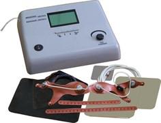 Аппарат стимуляции и электротерапии многофункциональный Элескулап 2-канальный (режим амплипульстерапия, диадинамия ,электросон, анальгезия, гальванизация, электростимуляция)