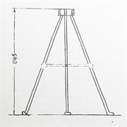 Подставка под О-1 (металлическая с анкерами)