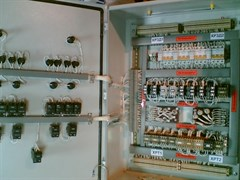 Электрический шкаф на метеоплощадку (УЗО, авт., розетка тр-р.Освещ. 220\12 V)