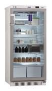 Холодильник фармацевтический ХФ-250-3 V=250 л. Н=1300 мм со стеклянной дверью