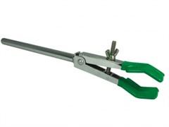 Держатель двупалый с одним зажимом до 45 мм.