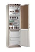 Холодильник лабораторный ХЛ-340 Vобщ.=400 л. мороз.кам.=130 л. H=2080 мм. 2-х камерный с металическими дверьми