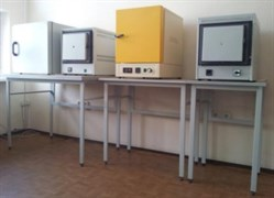 Стол лабораторный для электропечи 900x750x900
