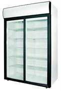 Шкаф холодильный POLAIR ШХ-1,4 (DM114Sd-S) (стеклянные двери-купе)