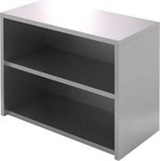 Полка-шкаф настенная открытая ПКПО 800/400 (без дверей)