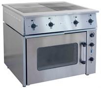 Плита электрическая ТУЛАТОРГТЕХНИКА ПЭ-0.48М четырехконфорочная с жарочным шкафом