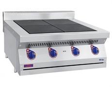 Плита электрическая ABAT ЭПК-47Н четырехконфорочная без жарочного шкафа (полностью нерж, серия 700)
