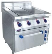 Плита электрическая ABAT ЭПК-47ЖШ четырехконфорочная с жарочным шкафом (лицевая нерж, серия 700)