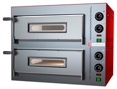 Печь для пиццы PIZZA GROUP Compact M35/8-B (2 камеры)