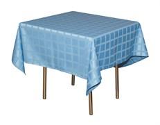 Скатерть 145х145 см «Журавинка» голубая (квадрат)