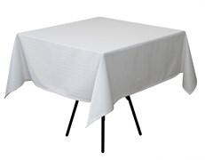Скатерть 145х145 см «Мираж» белая