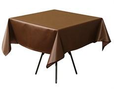 Скатерть 145х145 см «Ричард» коричневая