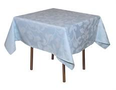 Скатерть 1,50х1,50 м «Валенсия флор» голубая