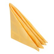Салфетка 45х45 см «Журавинка» желтая (квадрат)