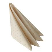 Салфетка 45х45 см «Мираж» бежевая