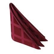 Салфетка 45х45 см «Журавинка» бордо (квадрат)