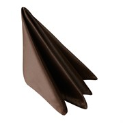 Салфетка 45х45 см «Журавинка» коричневая (гладь)