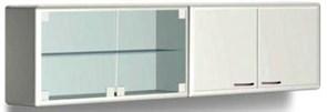 Шкаф медицинский навесной для хранения стоматологических материалов с металлическими дверями L 032