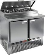 Стол охлаждаемый для пиццы HICOLD PZE1-11GN (1/3H)