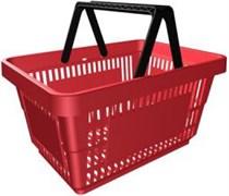 Корзина покупательская 20 л пластиковая SHOLS