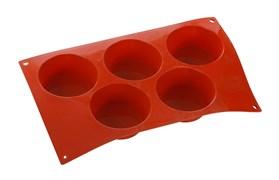 Форма для выпечки Большой маффин, 5 элементов Silicon Flex [SF024/N]