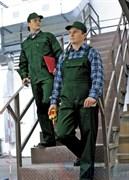 Костюм ВЫМПЕЛ-2 зелёный (куртка с полукомбинезоном)