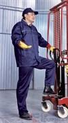 Костюм ВЫМПЕЛ-1, саржа (куртка с брюками) т.синий