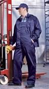 Костюм ВЫМПЕЛ, саржа (куртка с полукомбинезоном) т.синий