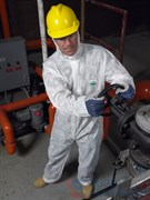 Комбинезон для защиты от пыли и грязи ZoneGard White