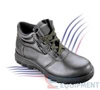 Ботинки кожаные МЕТАЛЛАН